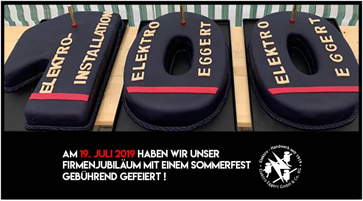 Feier 100 Jahre Elektro Eggert