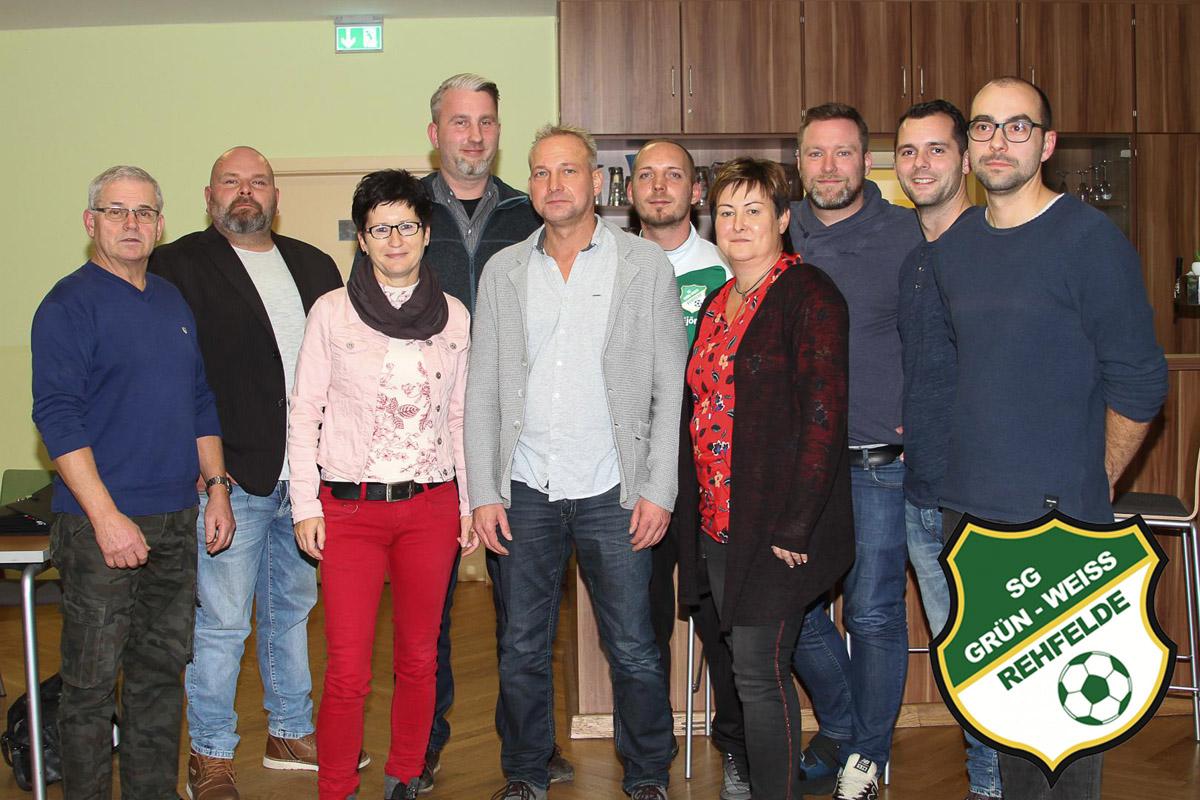 SG Grün-Weiss Rehfelde Vorstand 2019